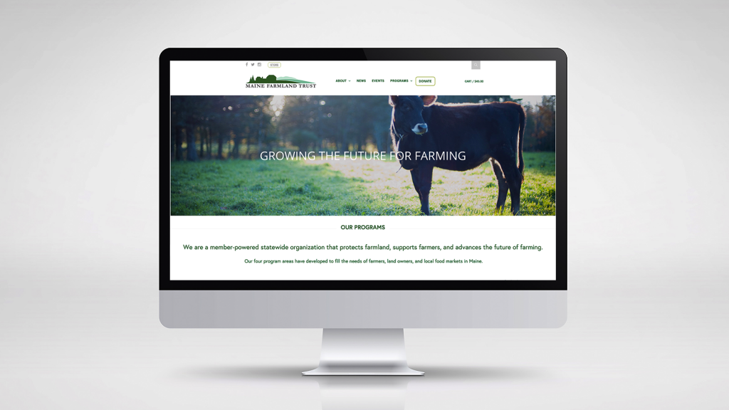 Maine Farmland Trust Website