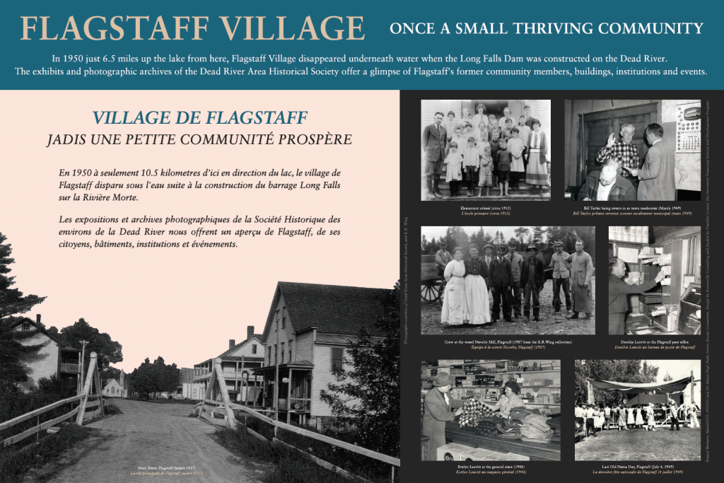 Maine-Interpretive-Panel-Flagstaff-Village