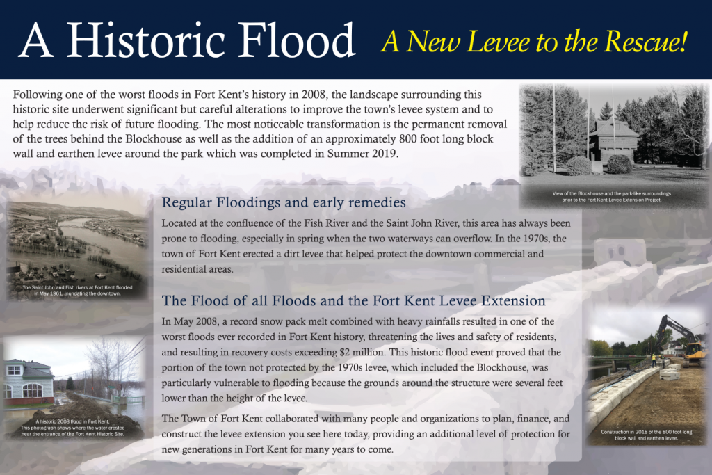 Interpretive panels for Fort Kent, Maine (02)